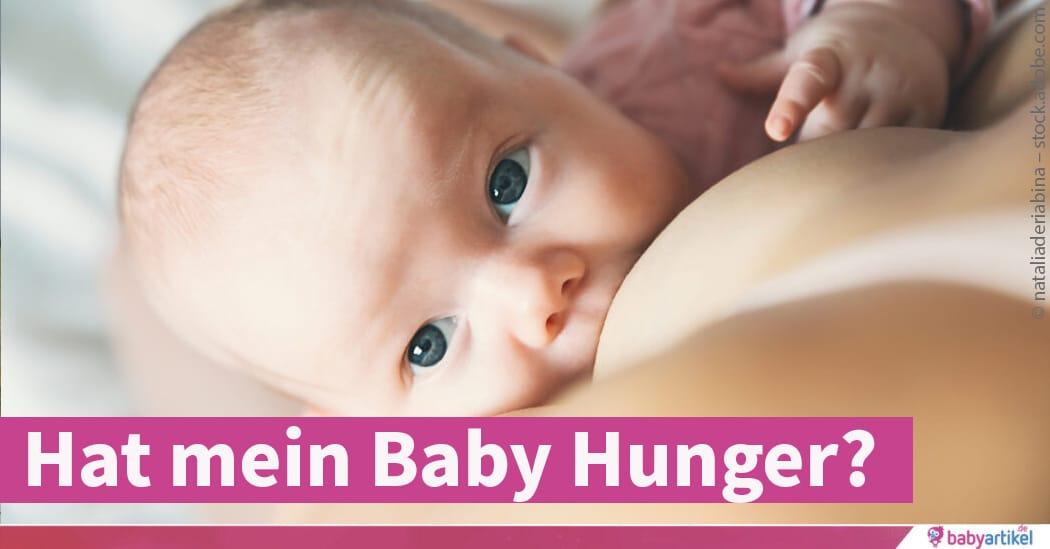 Comment savoir si mon bébé de 3 mois a faim?